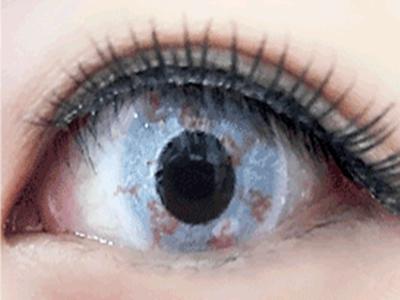 ゾンビの目、特殊メイク、コスプレ用カラコンの画像